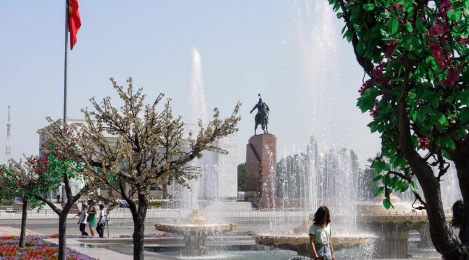 Exotický Kyrgyzstán – Hlavní město Biškek