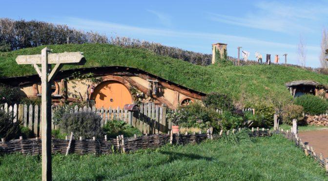 Novým Zélandem v zimě – Hobitín (Hobbiton)