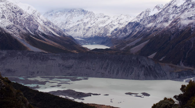 5. července- Mt. Cook