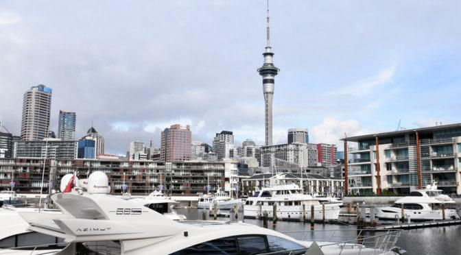 Novým Zélandem v zimě – Auckland