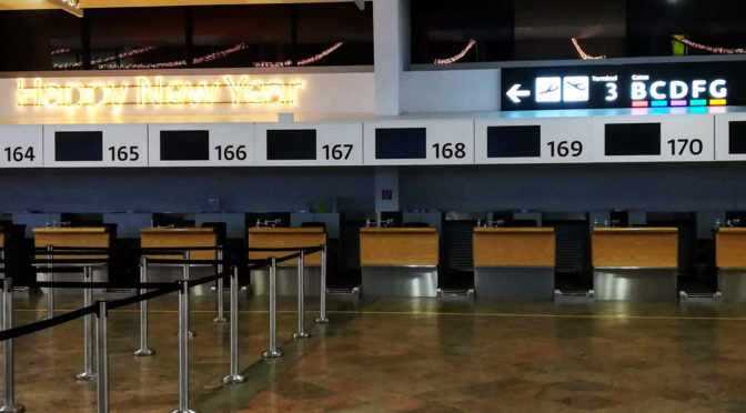 Jak netápat na letišti – Odbavení neboli check-in
