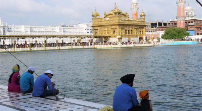 Pandžábský AMRITSAR – Posvátné město Sikhů